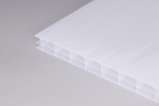 16mm Stegplatten Polycarbonat 3-fach weiß-opal