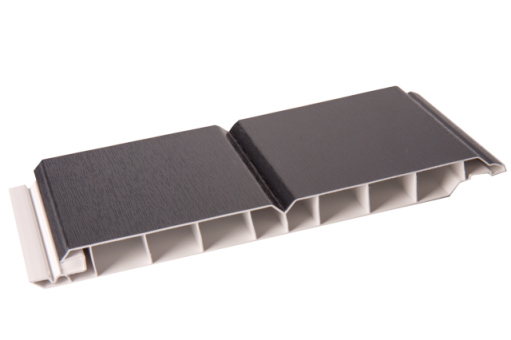 Kunststoff-Paneele anthrazitgrau 17/200mm Dekorpaneele