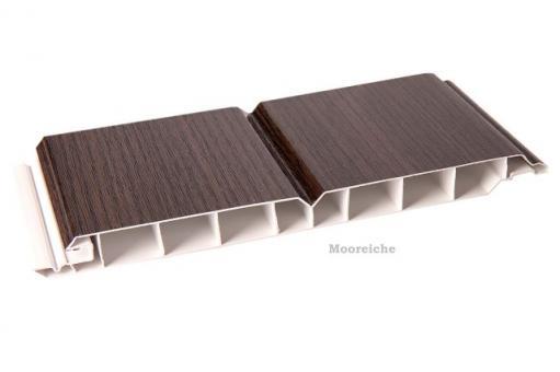 Kunststoff-Paneele Mooreiche 17/200mm Dekorpaneele