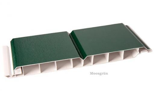 Kunststoff-Paneele moosgrün 17/200mm Dekorpaneele