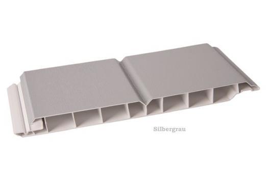 Kunststoff-Paneele silbergrau 17/200mm Dekorpaneele