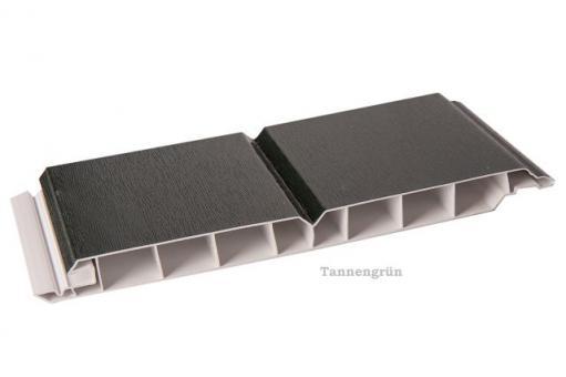 Kunststoff-Paneele tannengrün 17/200mm Dekorpaneele