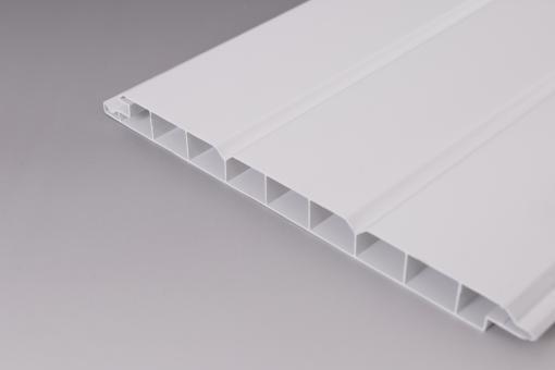 16mm Paneele weiß PVC Nut+Feder