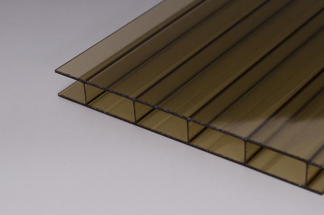 16mm doppelstegplatten acrylglas bronze online kaufen. Black Bedroom Furniture Sets. Home Design Ideas